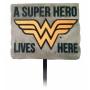 Wonder Woman Garden Stake.