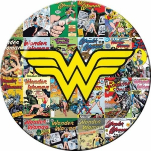 Wonder Woman Melamine Plate