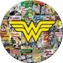 Wonder Woman Melamine Plate.