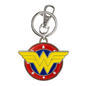 Wonder Woman Logo Color Pewter Key Chain