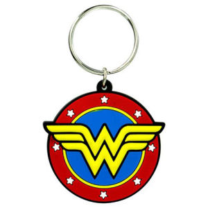 Wonder Woman Classic Logo Soft Touch Key Chain
