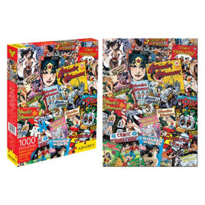 Wonder Woman Comic Book Covers 1000 Piece Puzzle