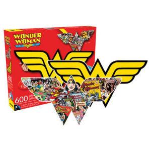 Wonder Woman Dual-Sided Logo 600 Piece Puzzle