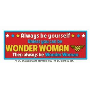 Wonder Woman Desk Sign