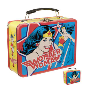 Wonder Woman Large Lunch Box Tin Tote