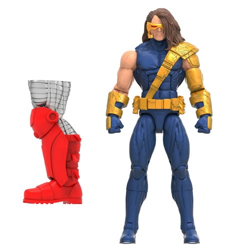Marvel Legends Cyclops 6 Inch Action Figure. Includes Build-A-Figure Colossus Piece.