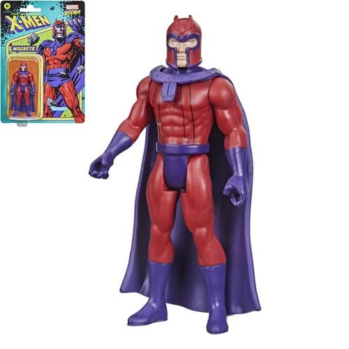 Marvel Legends Retro Series Magneto 3.75 Inch Action Figure.