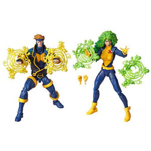 Marvel Legends 90s Havok and Polaris 6 Inch Action Figures