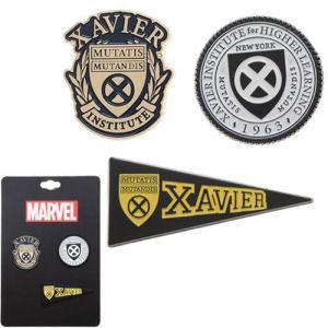 X-Men Alma Mater Lapel Pin Set