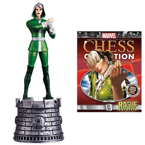 Marvel Chess Figurine Collection with Magazine #40 Rogue / White Bishop.