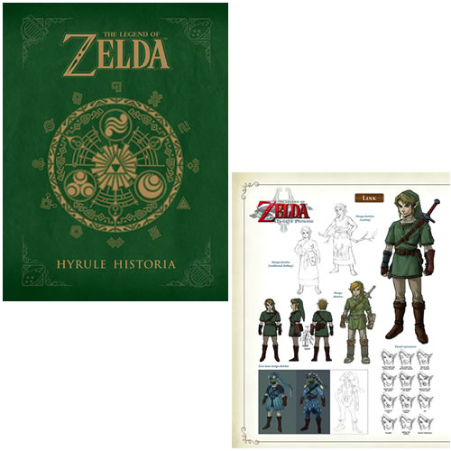 The Legend of Zelda Hyrule Historia Hardcover Book. The definitive The Legend of Zelda hardcover book. Read the full history of Hyrule with the official chronology of the games. Book features never-before-seen concept art.
